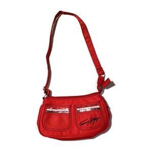 Small RED Tommy Hilfiger Handbag Purse